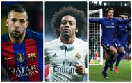 Top 10 hậu vệ trái đang có phong độ 'vi diệu' khiến thế giới nể phục
