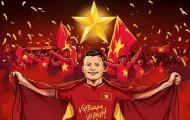 Trang tin bóng đá London gọi U23 Việt Nam là anh hùng dân tộc
