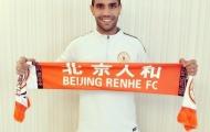 CHÍNH THỨC: Tiền vệ Atletico Madrid cập bến Trung Quốc