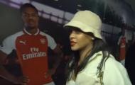 Rihanna tiếp lửa Arsenal trước thềm đại thắng Everton