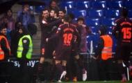 Highlights: Espanyol 1-1 Barcelona (vòng 22 La Liga)