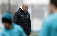 Zinedine Zidane trầm tư trước ma trận tin đồn