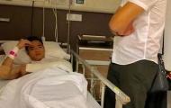 Nguyên Mạnh phẫu thuật thành công, SLNA chịu toàn bộ chi phí điều trị