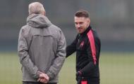 Chuẩn bị cho Europa League, Arsenal đón tin vui từ Ramsey