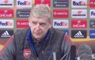 Wenger: Ozil sẵn sàng ra sân trước Man City