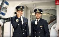 Neymar và Thiago Silva cực bảnh trong vai cơ trưởng