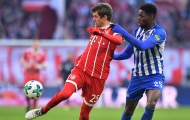 Highlights: Bayern 0-0 Hertha Berlin (Vòng 24 Bundesliga)