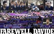 Juventus cùng cả nước Ý khóc thương cho Astori