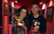 Ramos mừng sinh nhật bồ già bằng bánh kem độc lạ