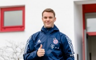 Manuel Neuer trở lại tập luyện sau 6 tháng