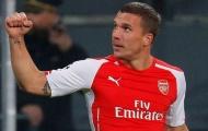 Podolski và những bàn thắng đáng nhớ tại sân Emirates
