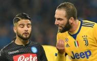 Juventus có gấp đôi lợi thế so với Napoli tại Serie A