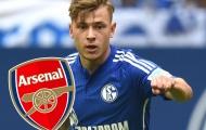 Arsenal nhắm sao trẻ nước Đức thay Wilshere