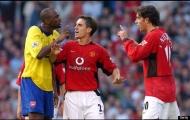 Khi Man Utd và Arsenal từng làm tất cả để triệt hạ nhau