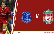 TRỰC TIẾP Everton 0-0 Liverpool: Kết thúc