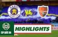 Hà Nội FC 0-0 (4-2p) Đắk Lắk (Cup Quốc gia 2018)