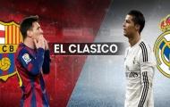 Công bố lịch của siêu kinh điển giữa Barca và Real