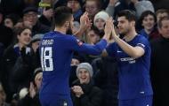 Sau 7 năm, Chelsea mới chơi với 2 tiền đạo