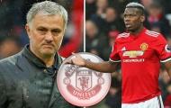 Mourinho ra tối hậu thư, Pogba đứng trước ngã ba đường
