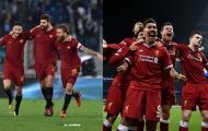 Nếu Liverpool sinh ra để diệt Man City... thì AS Roma tóm gọn Quỷ đỏ nước Anh