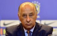 Chủ tịch Liên đoàn bóng đá Brazil bị cấm hoạt động bóng đá suốt đời