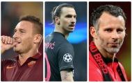 Những ngôi sao sân cỏ trở thành 'ông hoàng tuổi 30'