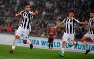 Chấm điểm Juventus: Benatia 'cân team'