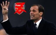 Phớt lờ Arsenal, Allegri tính ở lại Juventus?