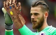 """Manchester United với đôi """"găng tay vô cực"""""""