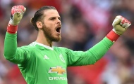 De Gea đoạt găng tay Vàng: Báo động cho hàng thủ Man Utd