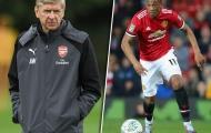 Bất ngờ với nguyên nhân khiến Martial lỡ hẹn Arsenal