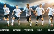Đội hình những tân binh World Cup của tuyển Đức khủng cỡ nào?