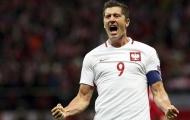 Đội tuyển Ba Lan công bố đội hình dự World Cup: Siêu tiền đạo Robert Lewandowski