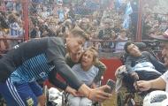 Dàn sao Argentina giao lưu cùng người hâm mộ