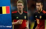 Đội hình ĐT Bỉ tham dự World Cup 2018