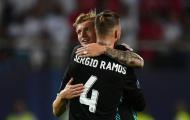 Toni Kroos: 'Sergio Ramos không phải kiểu cầu thủ thích gây hấn'