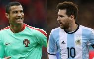 Đội hình mạnh nhất World Cup 2018: Không thể thiếu Messi, Ronaldo