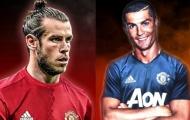 Man Utd - Ronaldo - Bale và vị thế của một 'ông vua'