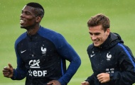 Khi tiếng cười bù đắp sự lúng túng của tuyển Pháp