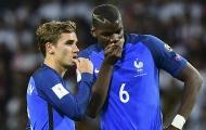 Đồng đội tuyển Pháp khích Pogba trước trận mở màn