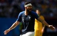 Pháp phá bỏ bộ khung, Giroud thay thế Griezmann