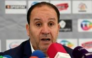 HLV Tunisia cúi đầu nhận lỗi sau thảm bại trước Bỉ