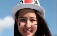 Các mỹ nhân Nhật đẹp rực rỡ trước trận đấu với Senegal