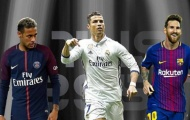 Neymar nói với Messi về... Ronaldo