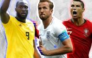 ĐHTB lượt trận thứ 2 vòng bảng World Cup 2018: Kane, Lukaku che mờ Ronaldo