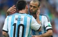 Mascherano: 'Messi bực bội và tuyệt vọng'