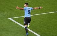 Vùi dập tuyển Nga, Uruguay ung dung vào vòng trong với ngôi nhất bảng