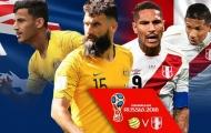 TRỰC TIẾP Australia 0-2 Peru: Dấu chấm hết cho đại diện châu Á (Kết thúc)