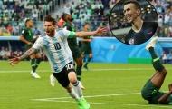 Nhờ Croatia cao thượng, Argentina có vé đi tiếp
