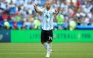 CHÍNH THỨC: Javier Mascherano chia tay ĐT Argentina